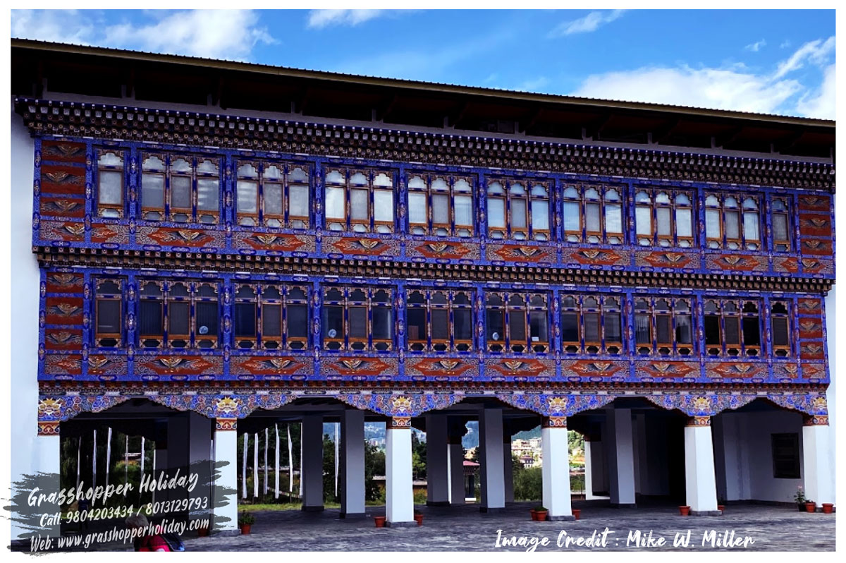 The National Textile Museum - places to visit in bhutan