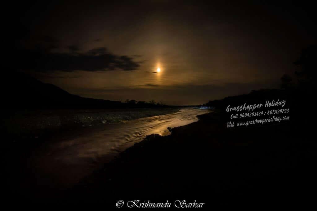 jayanti at night - buxa jayanti tour plan