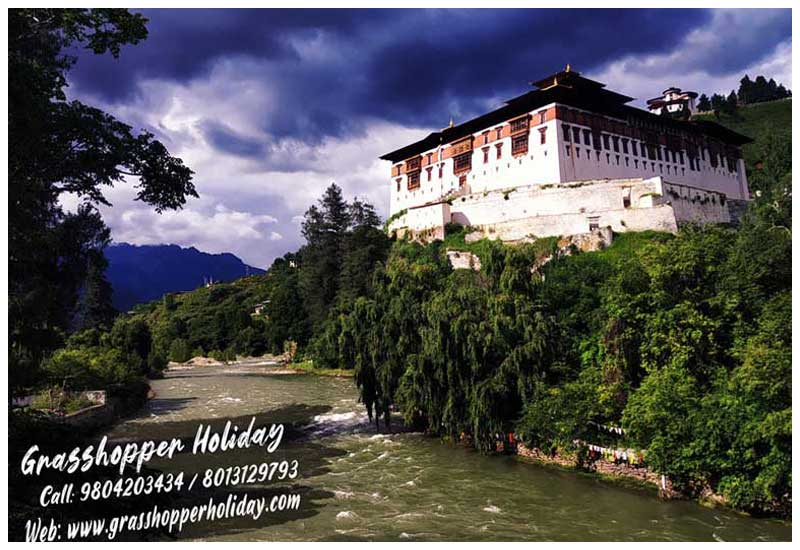 bhutan holiday packages paro dzong