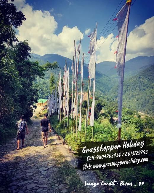 todey  tangta chisang- offbeat dooars