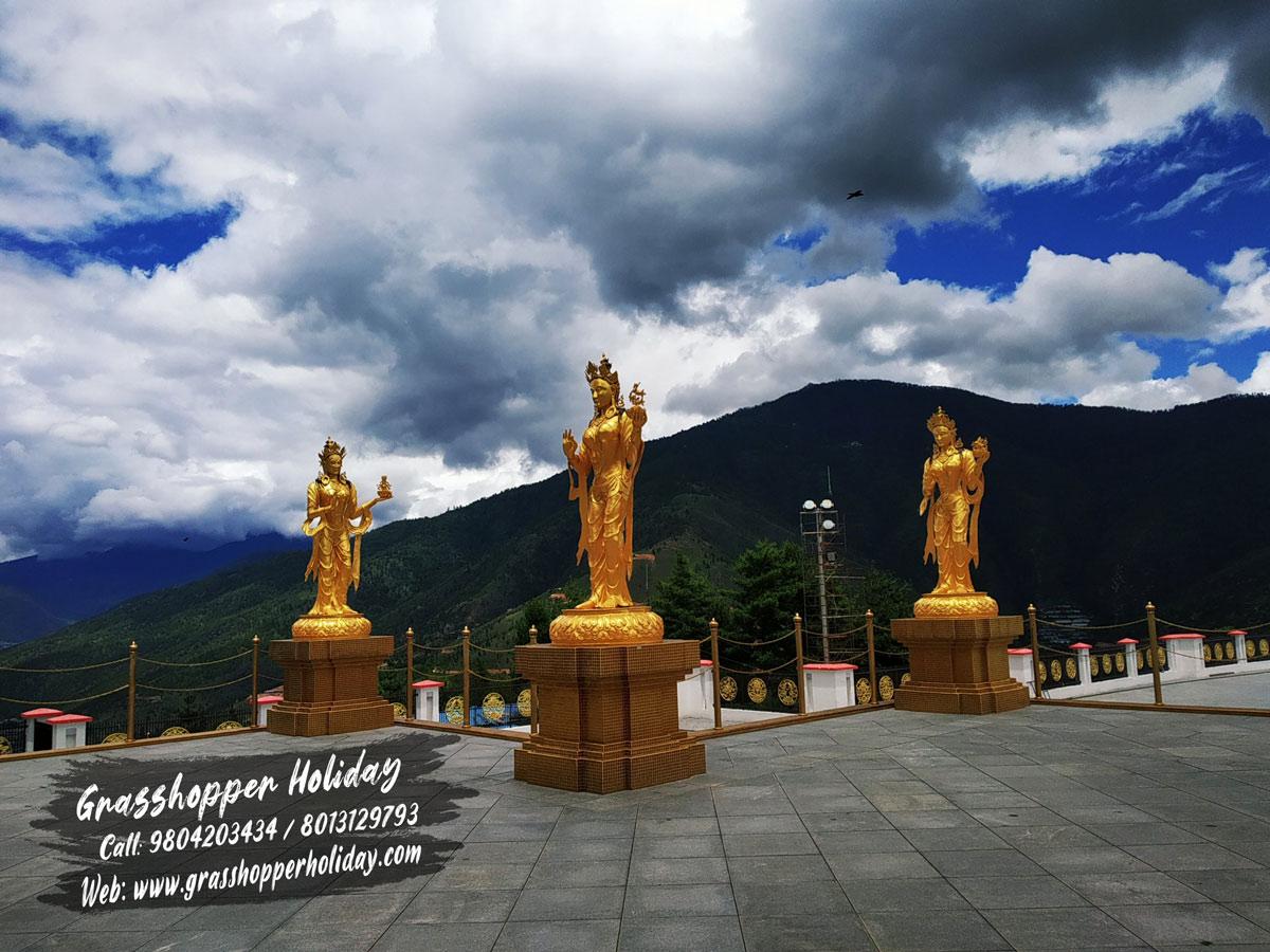 Kuensel phodrangm - Places to visit in Thimphu