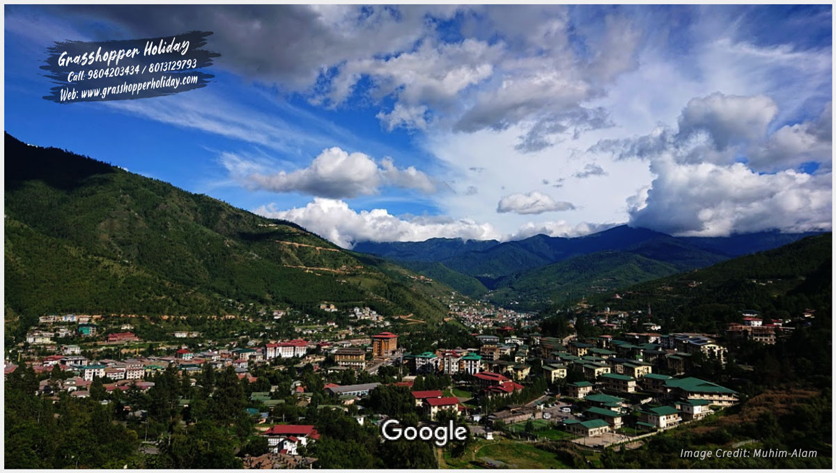 City view - top attraction of thimphu