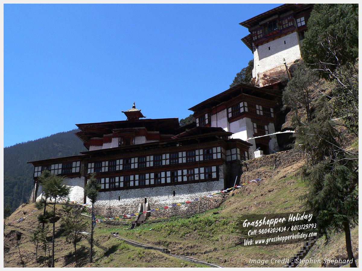 Cheri Monastery - top attractions of bhutan