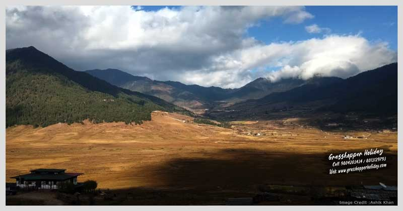 Phobjikha valley - Gangtey Valley - Central Bhutan - places to visit in bhutan