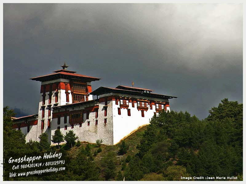 Jakar Dzong | Bumthang attraction | Castle of the White Bird | Jakar Yugyal Dzong