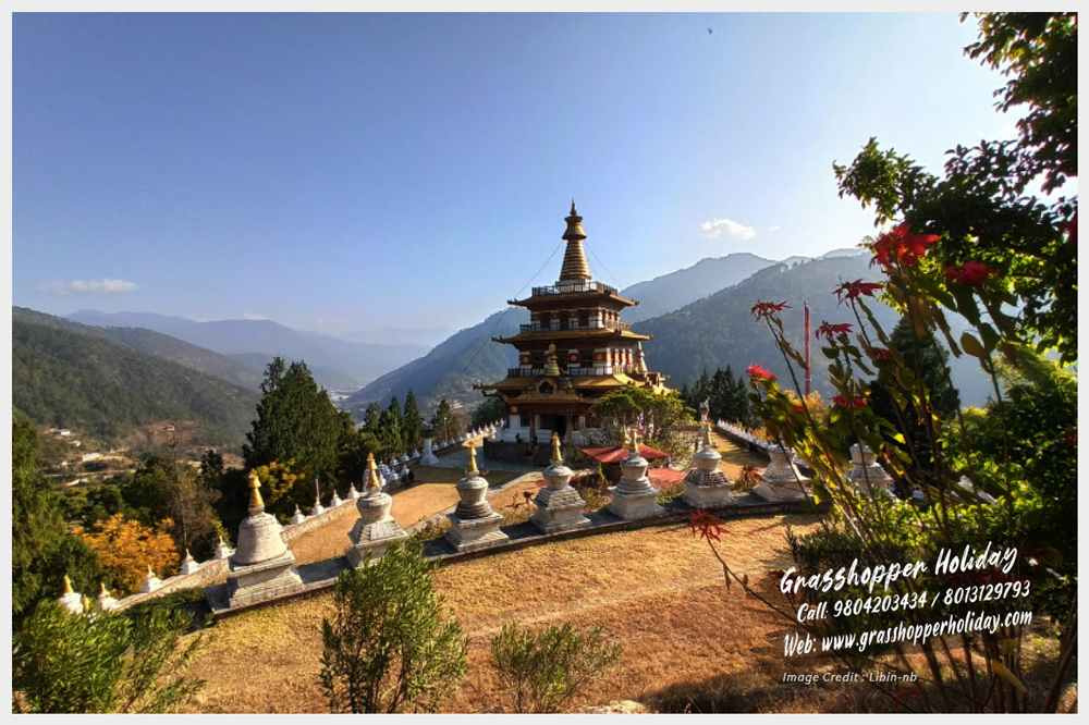 Khamsum Yulley Namgyal Chorten - top attraction of punakha bhutan,