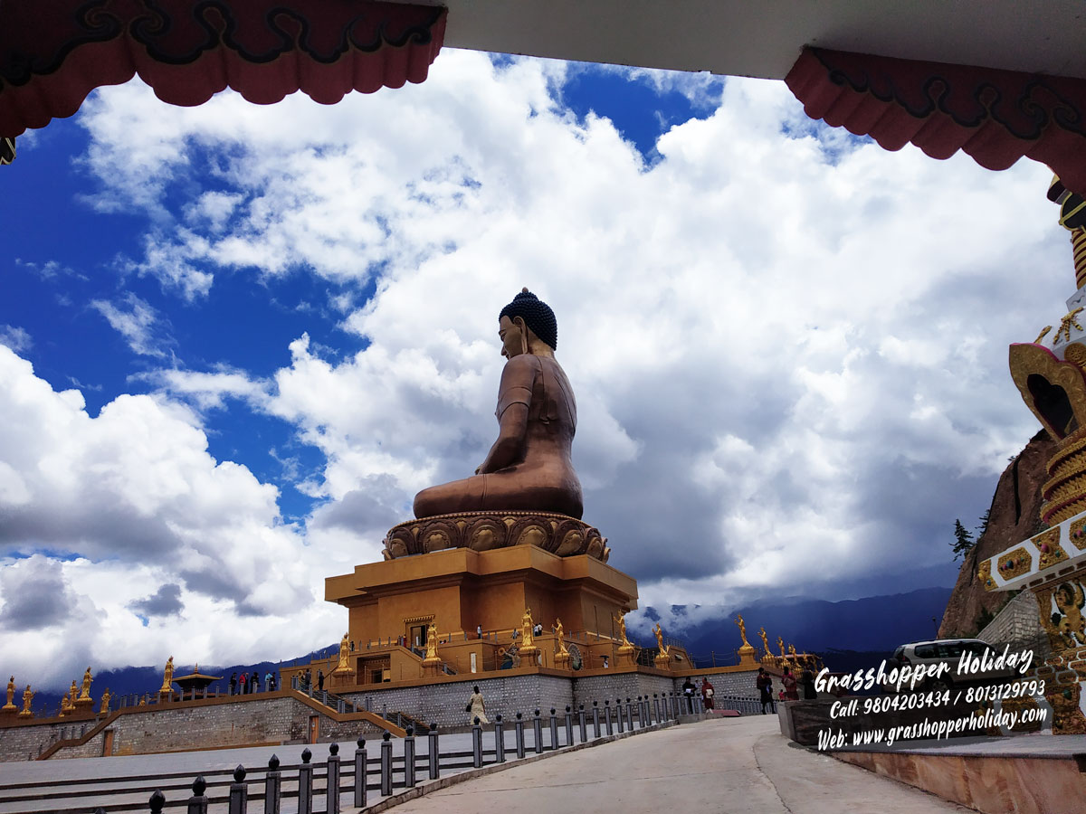 Kuensel phodrang -Top attraction of Thimphu - Places to visit in Thimphu