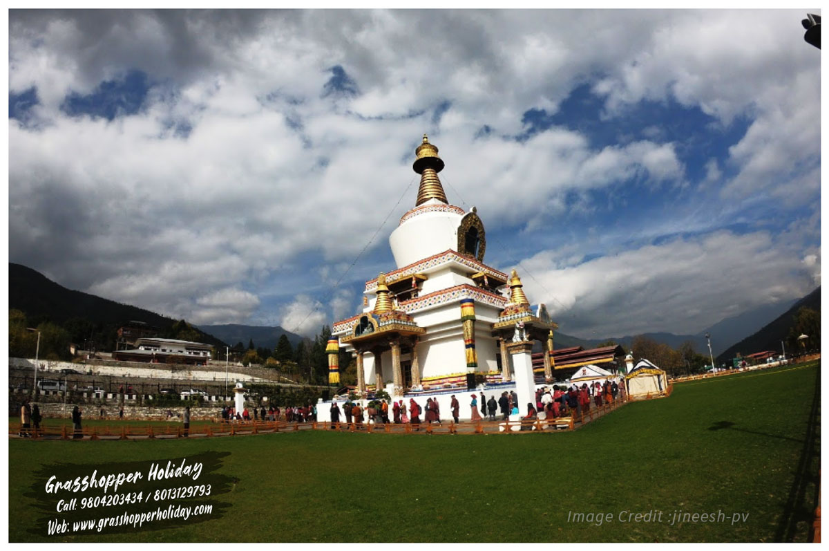 Thimphu Chorten - Top attraction of thimphu - Bhutan package tour
