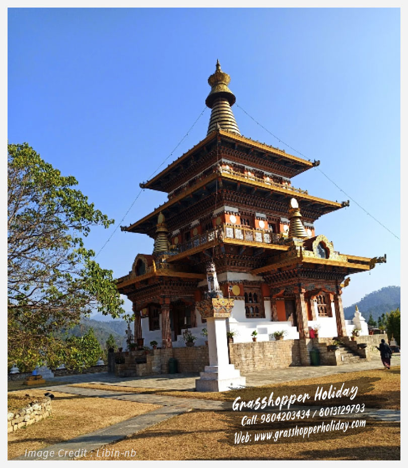 Khamsum Yulley Namgyal Chorten - top attraction of bhutan
