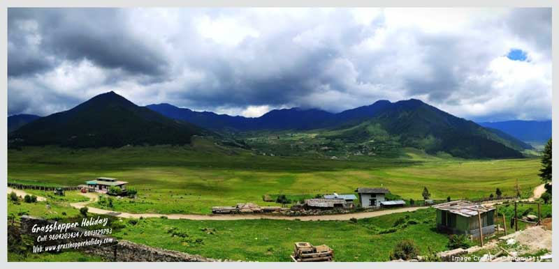 Phobjikha valley - Gangtey Valley - Central Bhutan - Top attraction