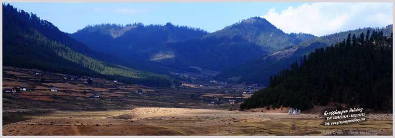 Phobjikha valley - Gangtey Valley - Central Bhutan - Top attraction of bhutan
