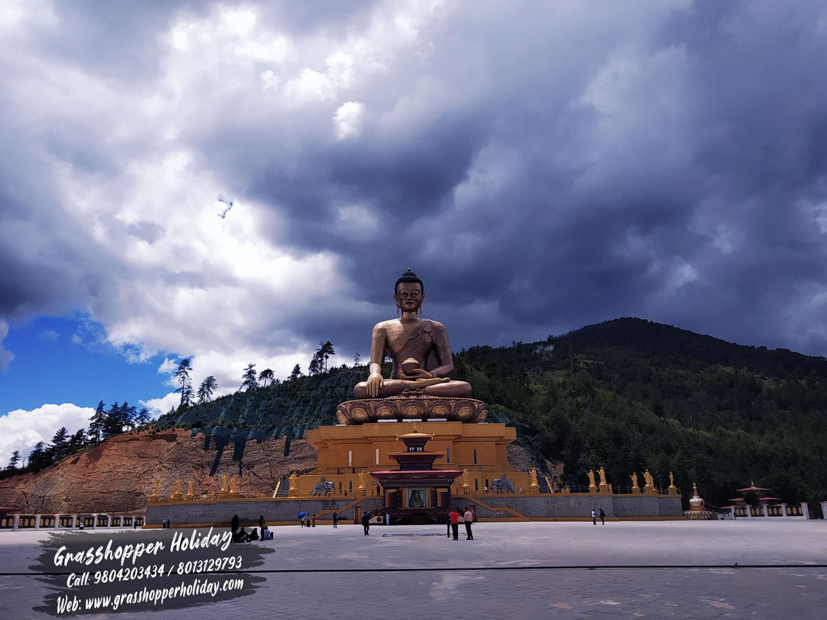 Kuensel phodrang , Buddha Point-Top attraction of Thimphu - Places to visit in Thimphu