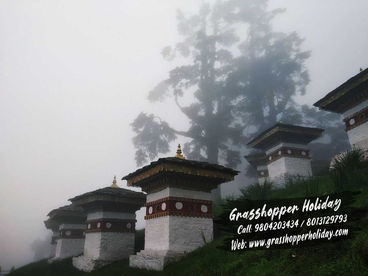 Dochula Pass - Tourist Places to visit in Bhutan