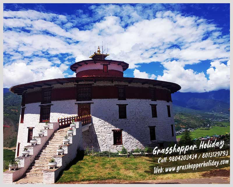 National Museum of Bhutan- Ta Dzong - Top attraction of Paro - paro Museum
