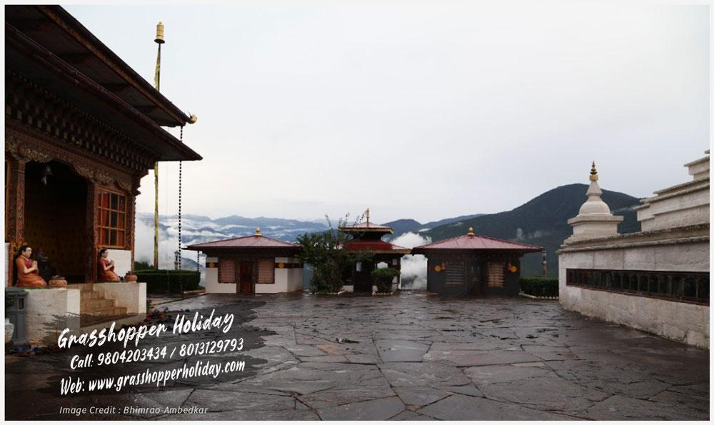 Sangchhen Dorji Lhuendrup nunnery punakha - top attraction of punakha