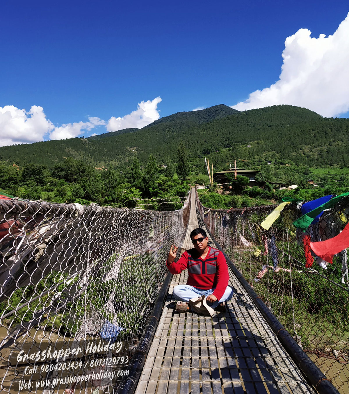 punakha-suspension-bridge- Top attraction of Bhutan