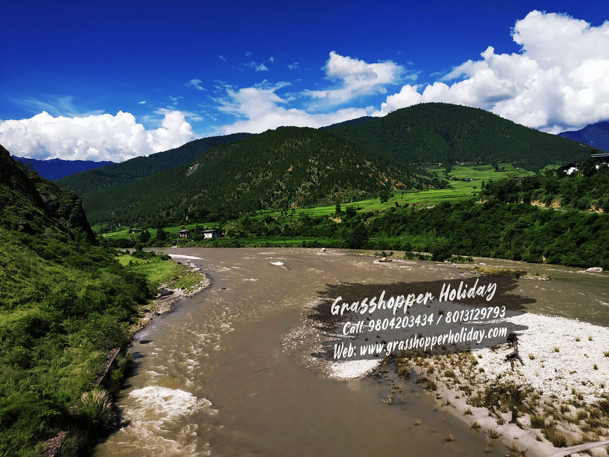 punakha-suspension-bridge - Tourist places to visit in bhutan